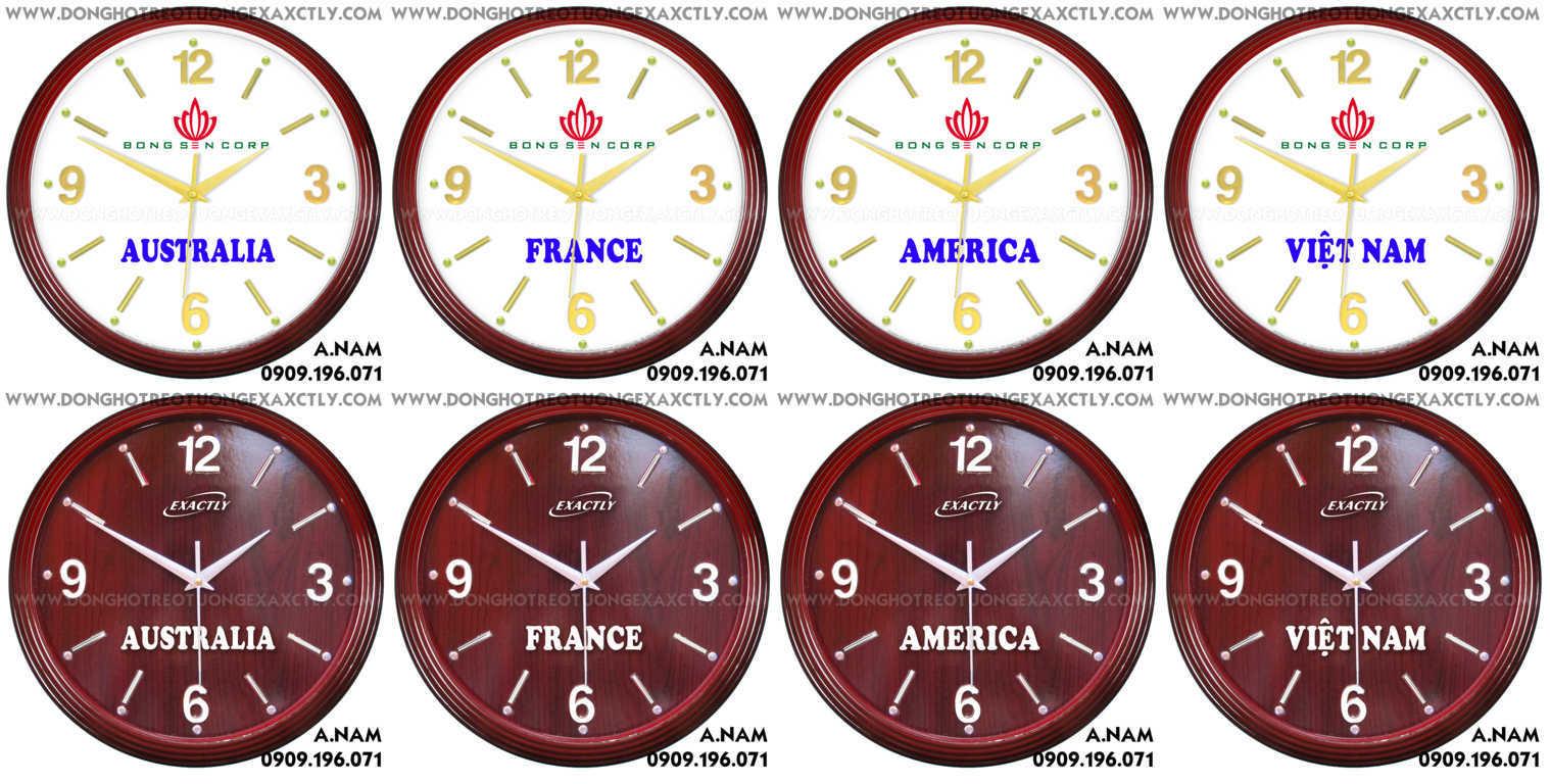 đồng hồ các múi giờ chất lượng cao giá rẻ nam sánh Tập đoàn bông sen group