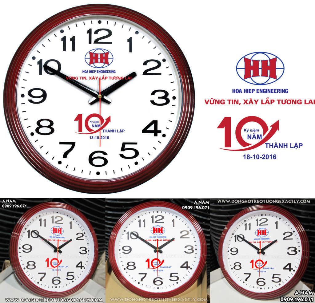 sản xuất đồng hồ treo tường quà tặng nam sánh hòa hiệp giá rẻ