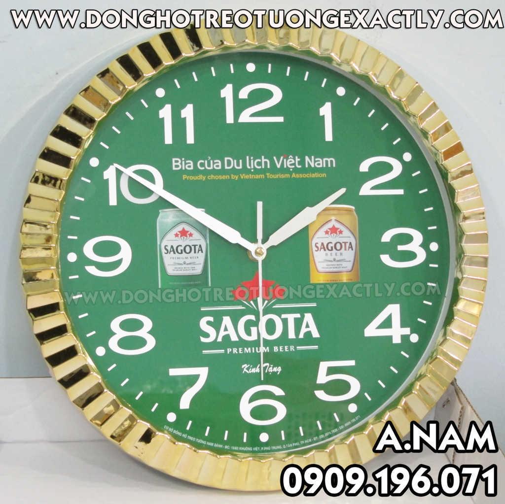 quà tặng đồng hồ của bia sagota