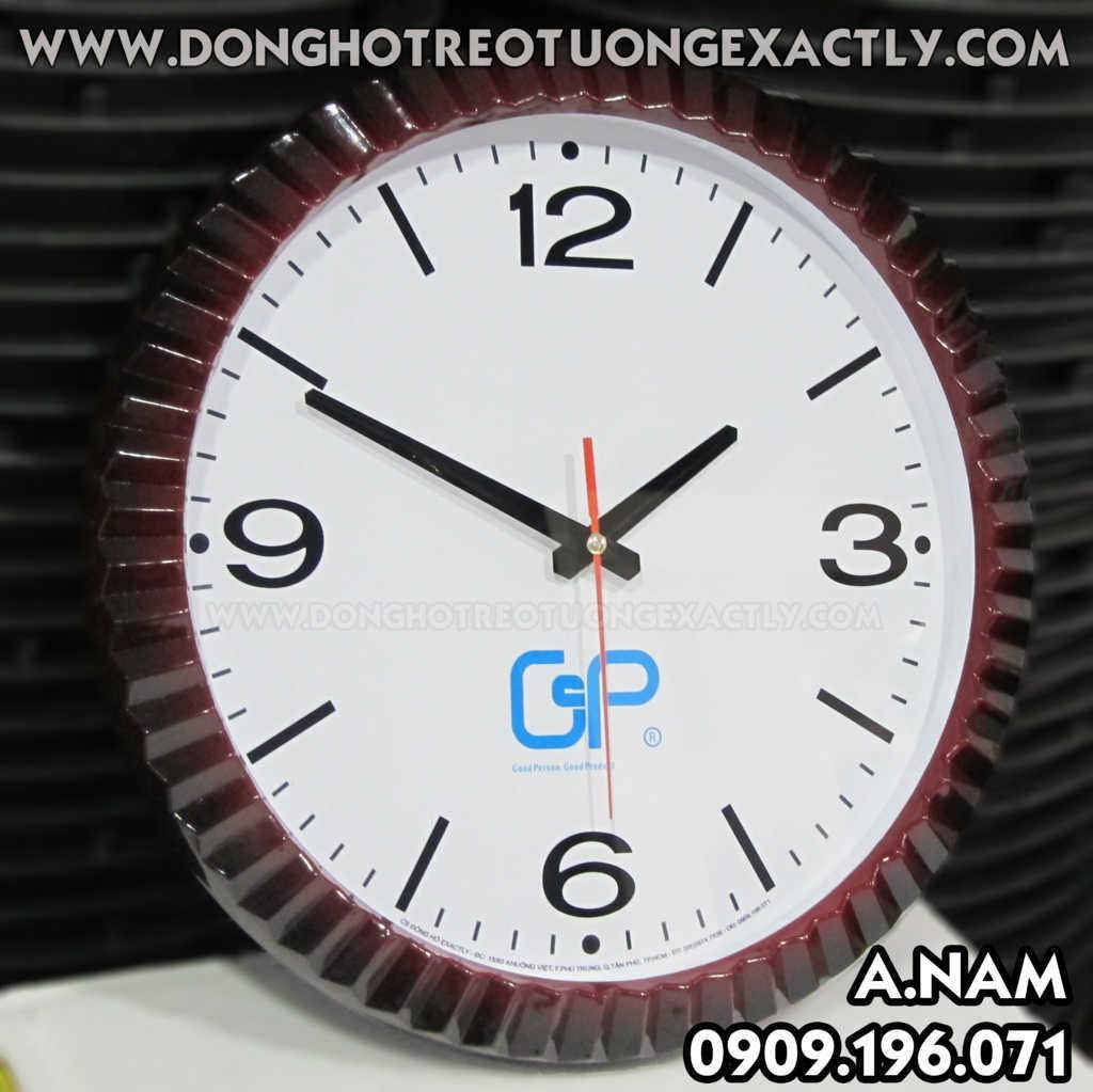 quà tặng doanh nghiệp đồng hồ treo tường tặng khách hàng