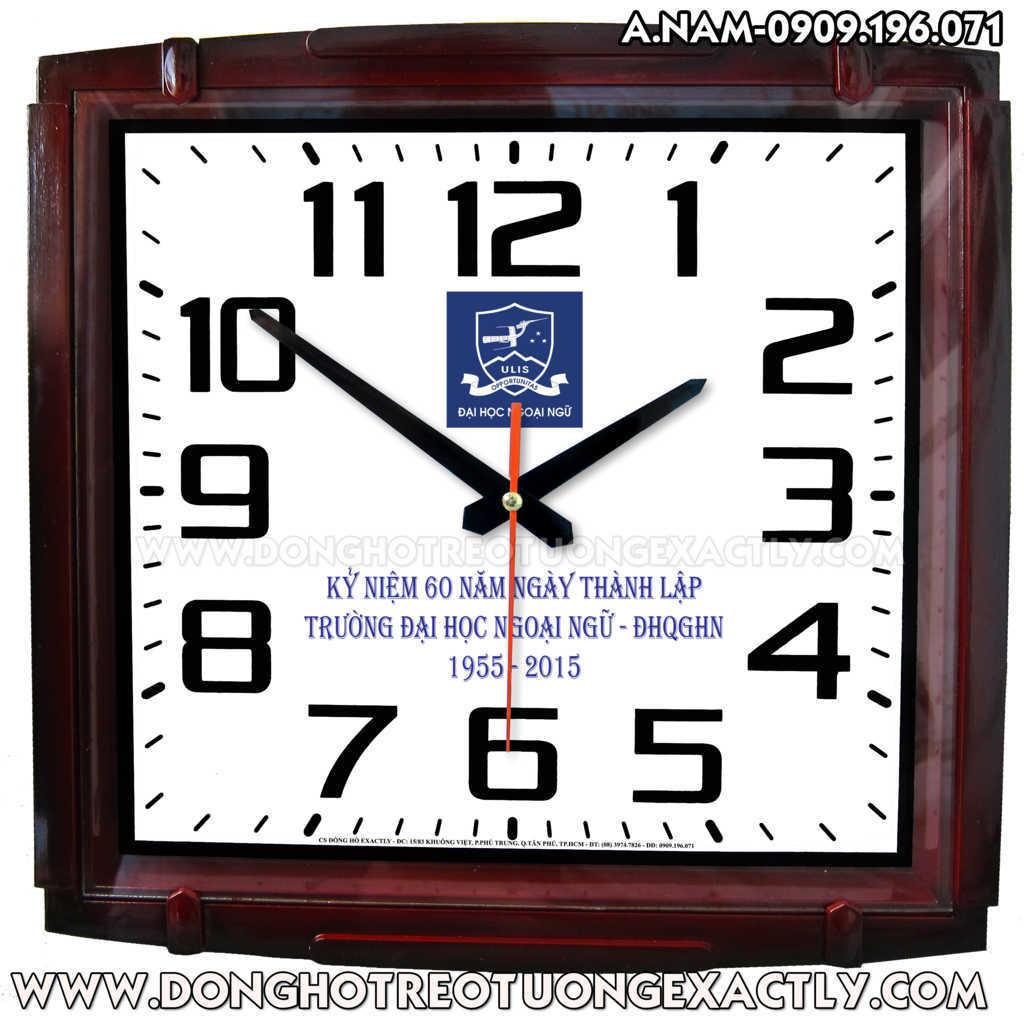 đồng hồ quà tặng đại học ngoại ngữ quốc gia hà nội