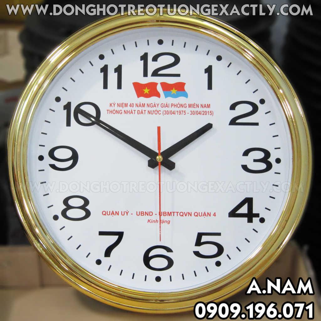 đồng hồ treo tường kỷ niệm giải phóng ủy ban nhân dân quận 4
