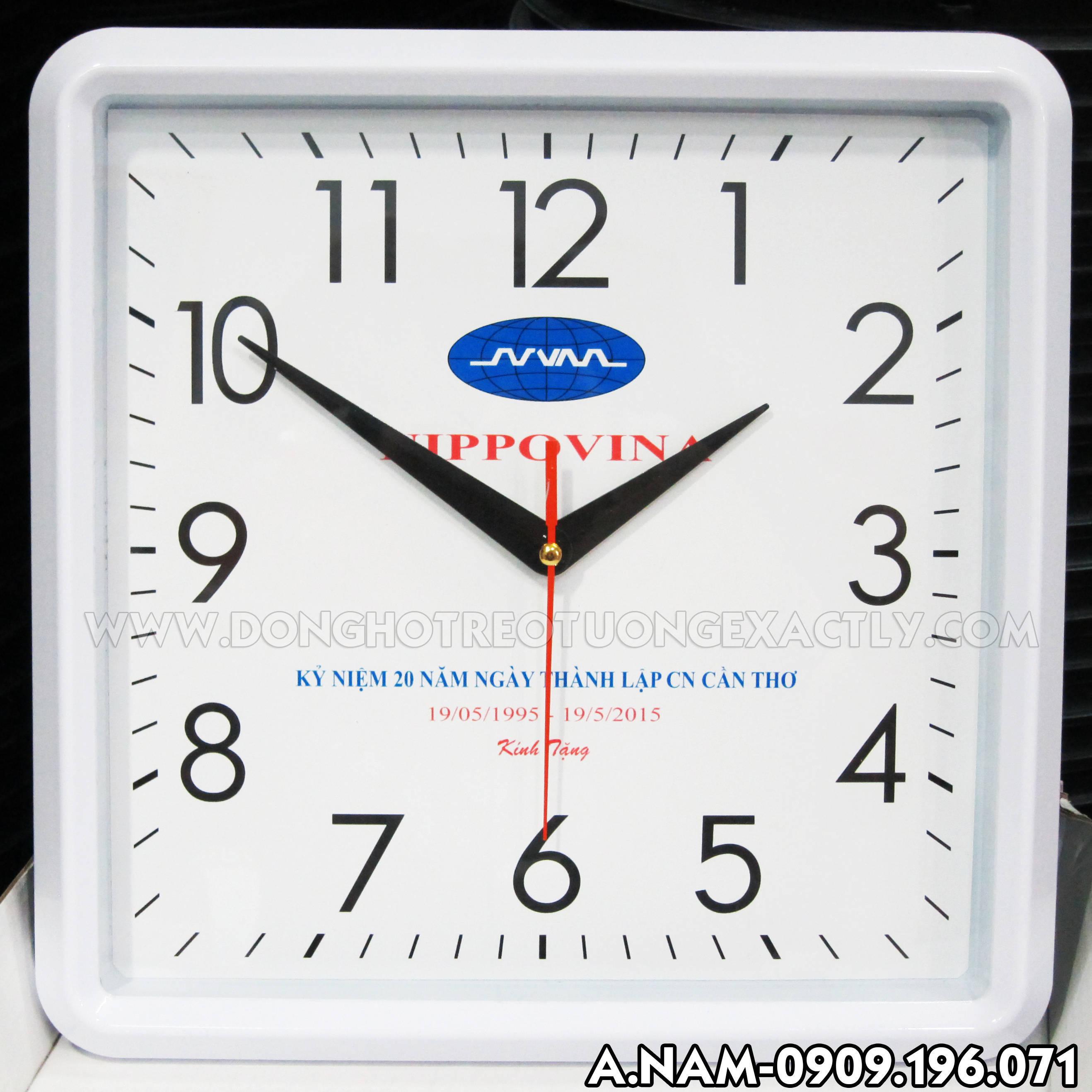 đồng hồ treo tường nippovina