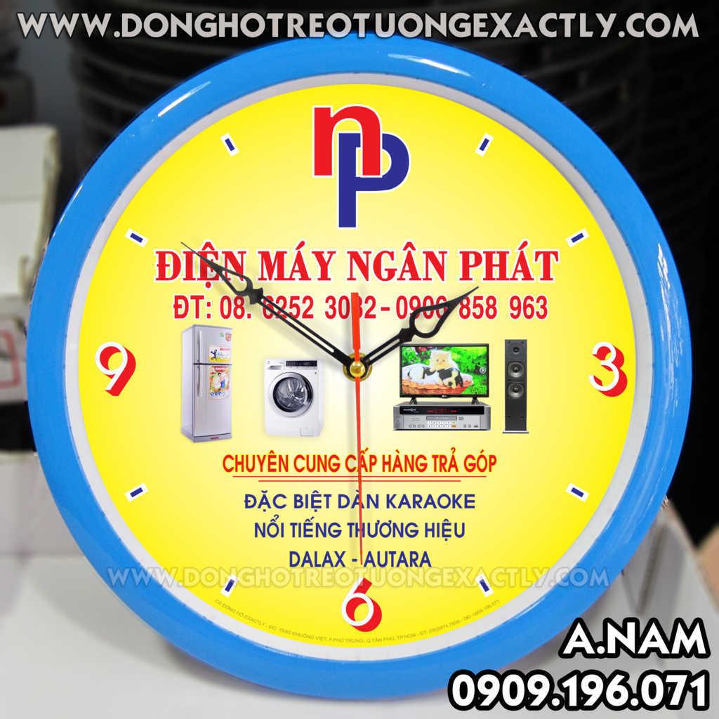 đồng hồ treo tường giá rẻ cho siêu thị điện máy q.7