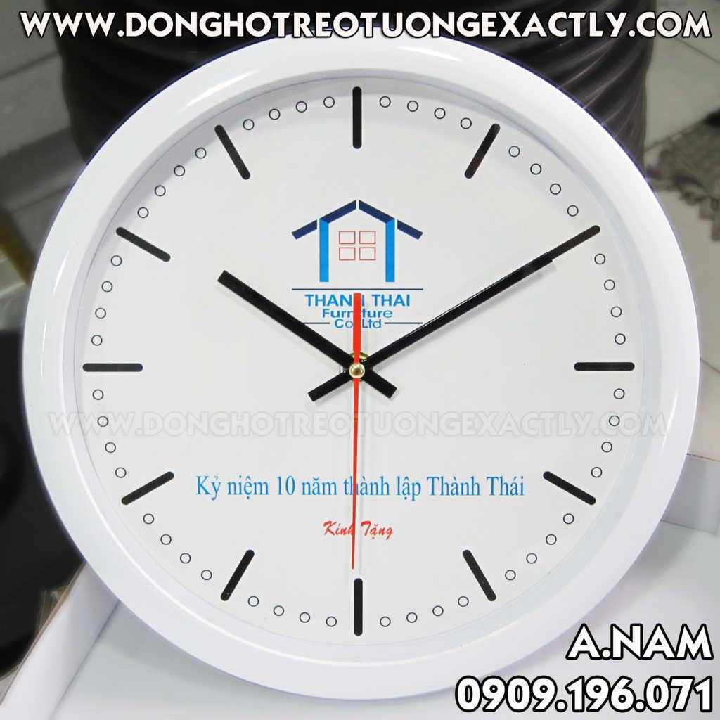 vật liệu xây dựng quà tặng đồng hồ treo tường giá rẻ