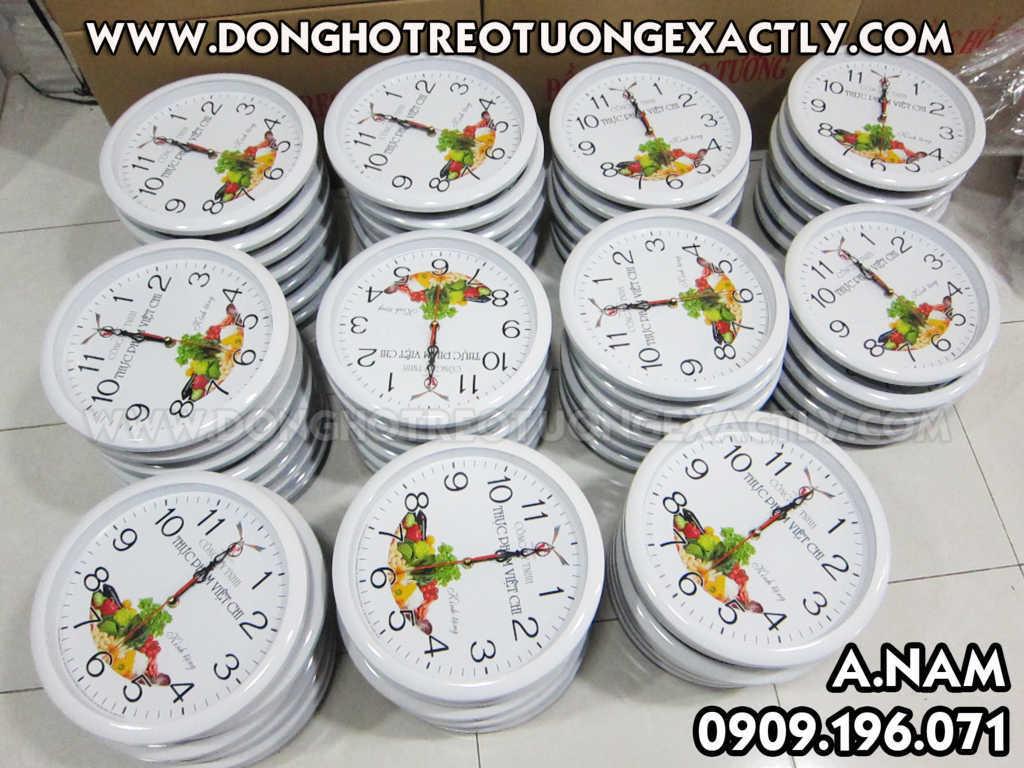 đồng hồ treo tường giá rẻ công ty cung cấp thực phẩm việt chi