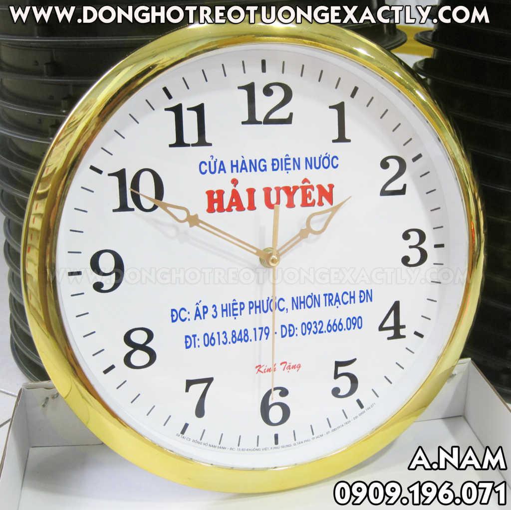 đồng hồ quà tặng điện nước hải uyên giá rẻ