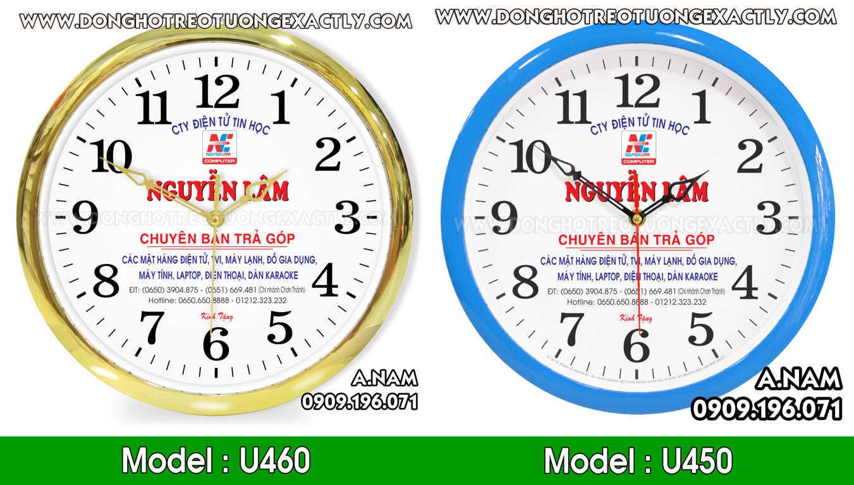 sản xuât Đồng hồ treo tường quà tặng quảng cáo tết giá rẻ giá sỉ
