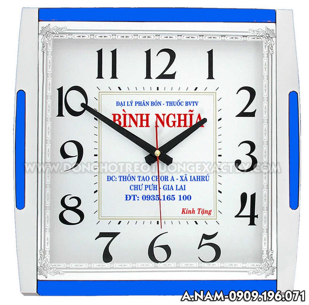 đồng hồ treo tường vật liệu xây dựng giá rẻ
