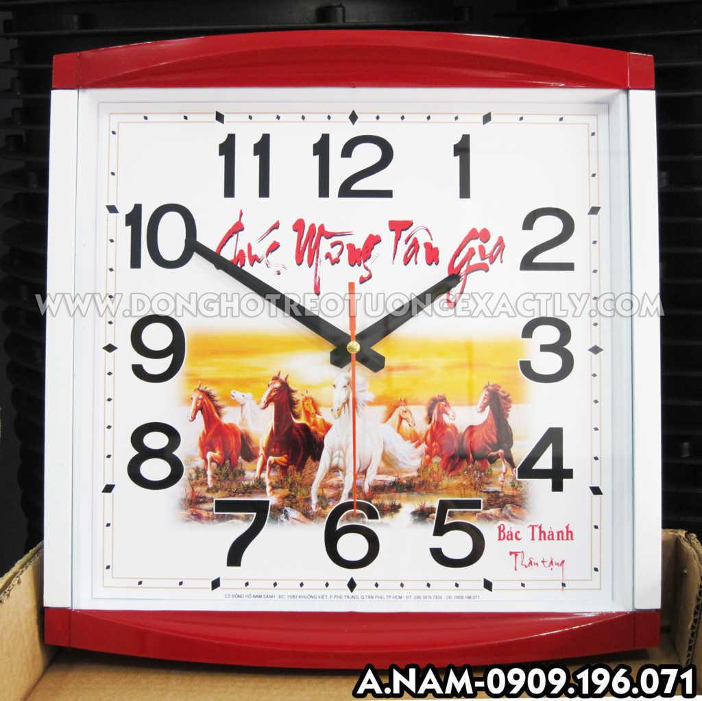 đồng hồ treo tưởng quà tặng giá rẻ , sản xuất đồng hồ giá rẻ