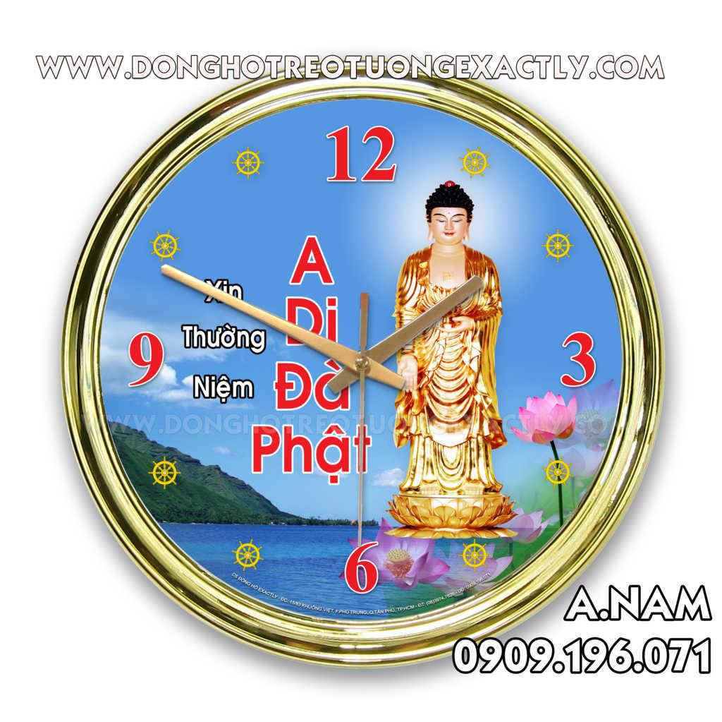 Đồng hồ hình Phật A Di Đà, Quan Âm Bồ Tát, các đợt Từ Thiện,...