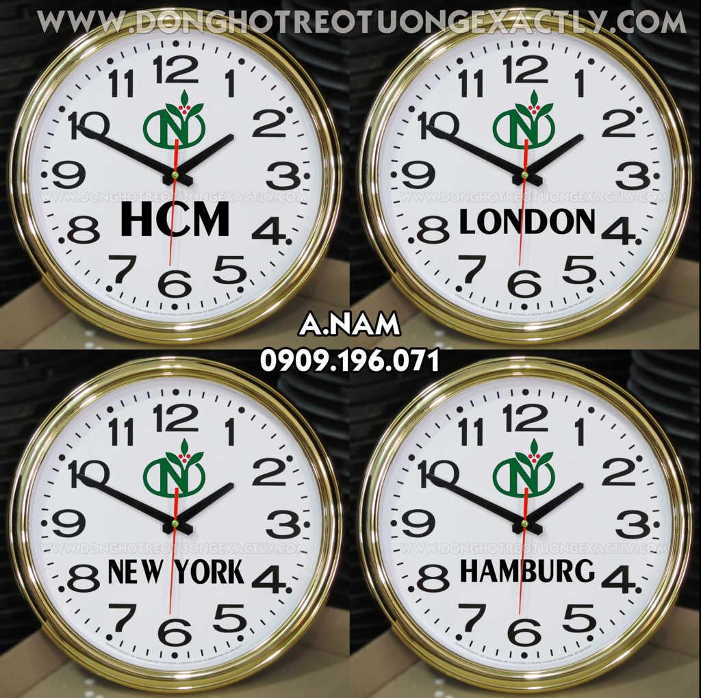 Đồng hồ treo tường dùng cho nhà hàng, dong ho cac mui gio, khách sạn, hội nghị, tiệc cưới, lễ tân
