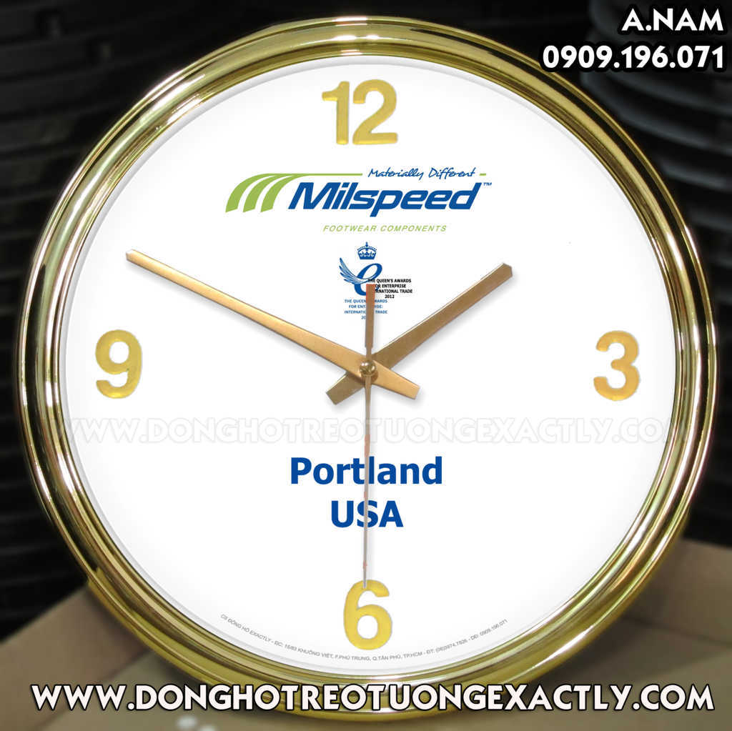 Đồng hồ treo tường dùng cho nhà hàng khách sạn, đồng hồ các múi giờ