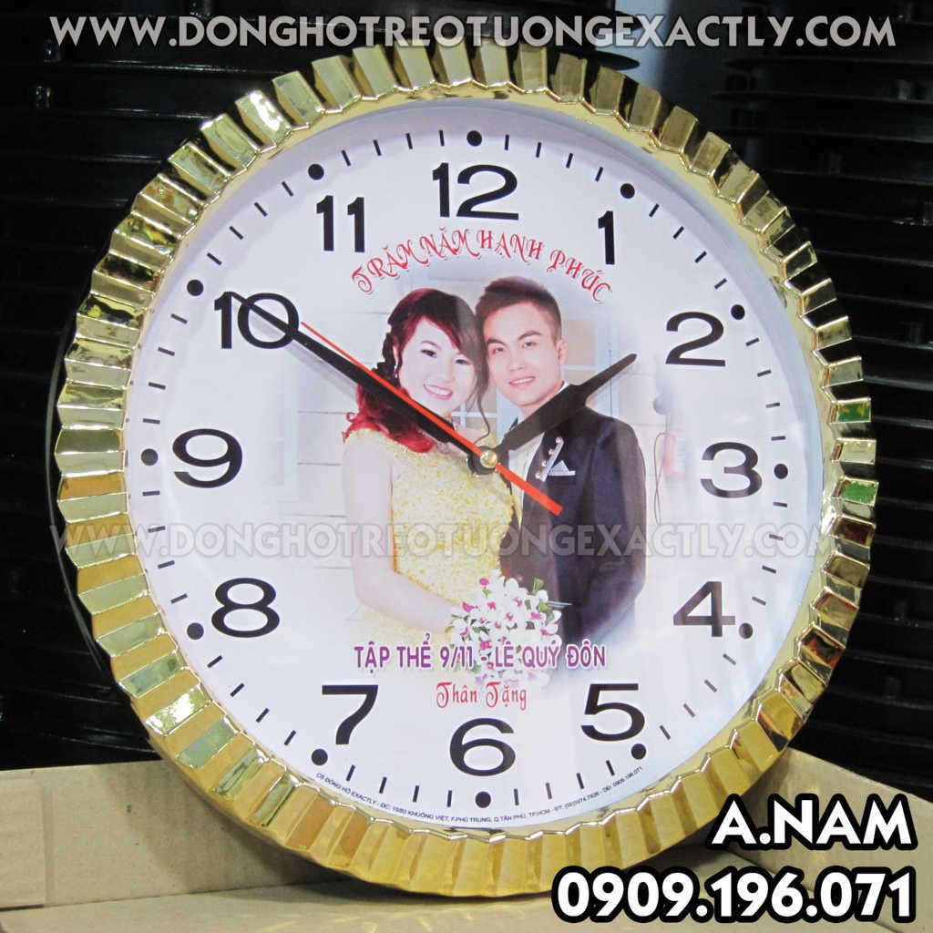 Đồng hồ làm quà tặng tiệc cưới đám cưới - tiệc cưới - tân gia