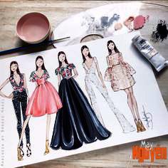 thiết kế sáng tác thời trang