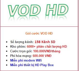 Danh sách kênh truyền hình HD