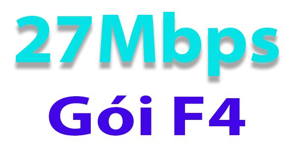 F4 - 27Mbps