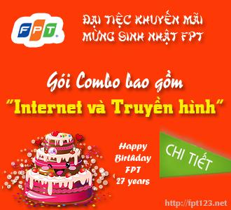 Gói Combo Internet và Truyền hình