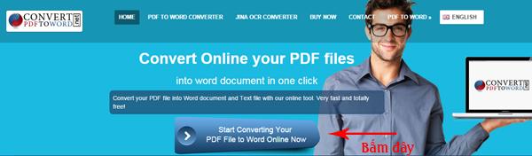Chuyển đổi PDF sang Word