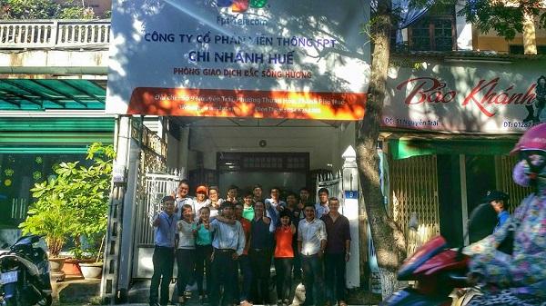 FPT Telecom Huế mở văn phòng giao dịch thứ 2