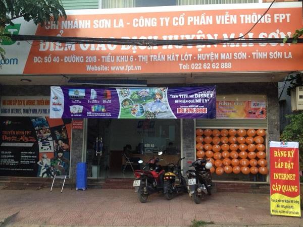 Địa chỉ đóng tiền mạng fpt ở Hát Lót, Mai Sơn, Sơn La