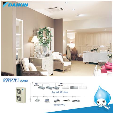 Hệ thống điều hòa trung tâm Daikin VRV IV S
