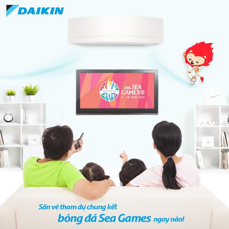 SeaGame sôi động cùng Daikin