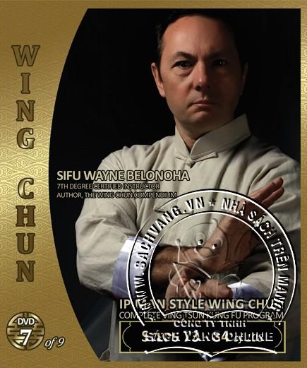 IP Man Style Wing Chun Steps 1-108 by Sifu Wayne Belonoha - back cover 7