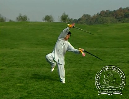 The Chen Style Taiji Double Swords Play by Chen Zhenglei - screenshot 2