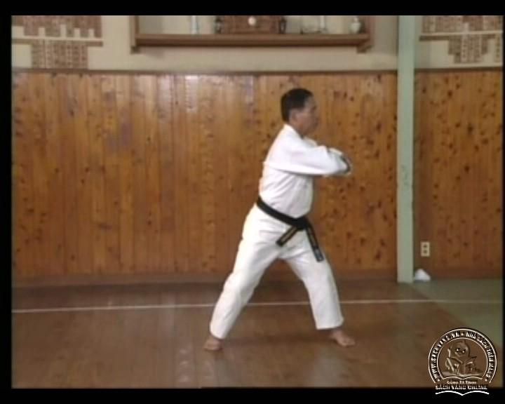 DVD Motobu Ryu Karate Jutsu by Motobu Chomasa screenshot 04