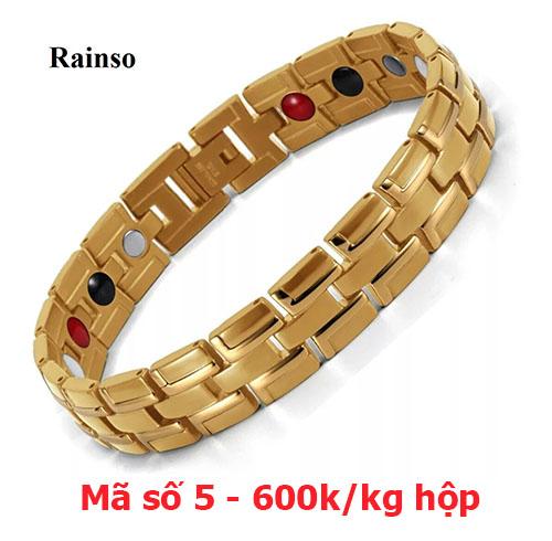 Vòng tay Rainso nam châm MS2-MS5