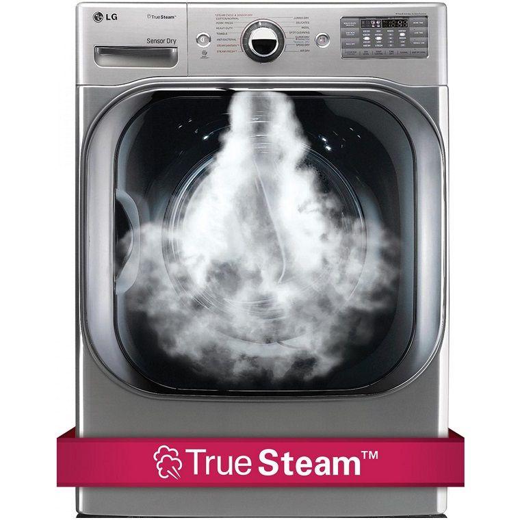 Công nghệ giặt hơi nước trên máy giặt LG