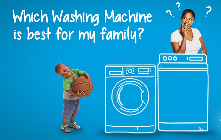 Chọn mua máy giặt bao nhiêu kg là hợp lý