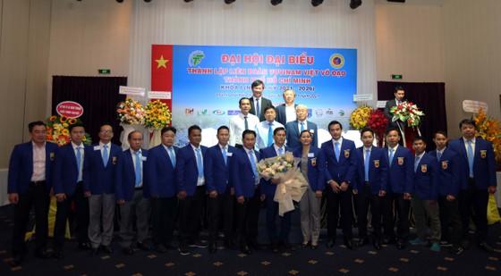 ĐẠI HỘI THÀNH LẬP LIÊN ĐOÀN VOVINAM TPHCM - Congrès pour la création de la Fédération Vovinam à Ho Chi Minh-Ville.