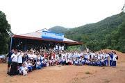 Gần 200 thành viên Vovinam cắm trại tại Núi Dinh - Près de 200 membres Vovinam au camping à la montagne Dinh.