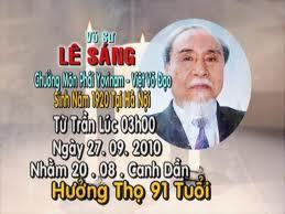 Tưởng niệm Cố Võ Sư Chưởng Môn Lê Sáng lần 7 (2010-2017) - La 7ème Commémoration de la mort du Maitre Patriarche Lê Sáng (2010-2017).