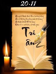CHÚC MỪNG NGÀY NHÀ GIÁO VIỆT NAM 20/11 (ANH - PHÁP - VIỆT) - Meilleurs Voeux pour la Journée des Enseignants VietNamiens 20 Novembre en Anglais - Francais - VN.