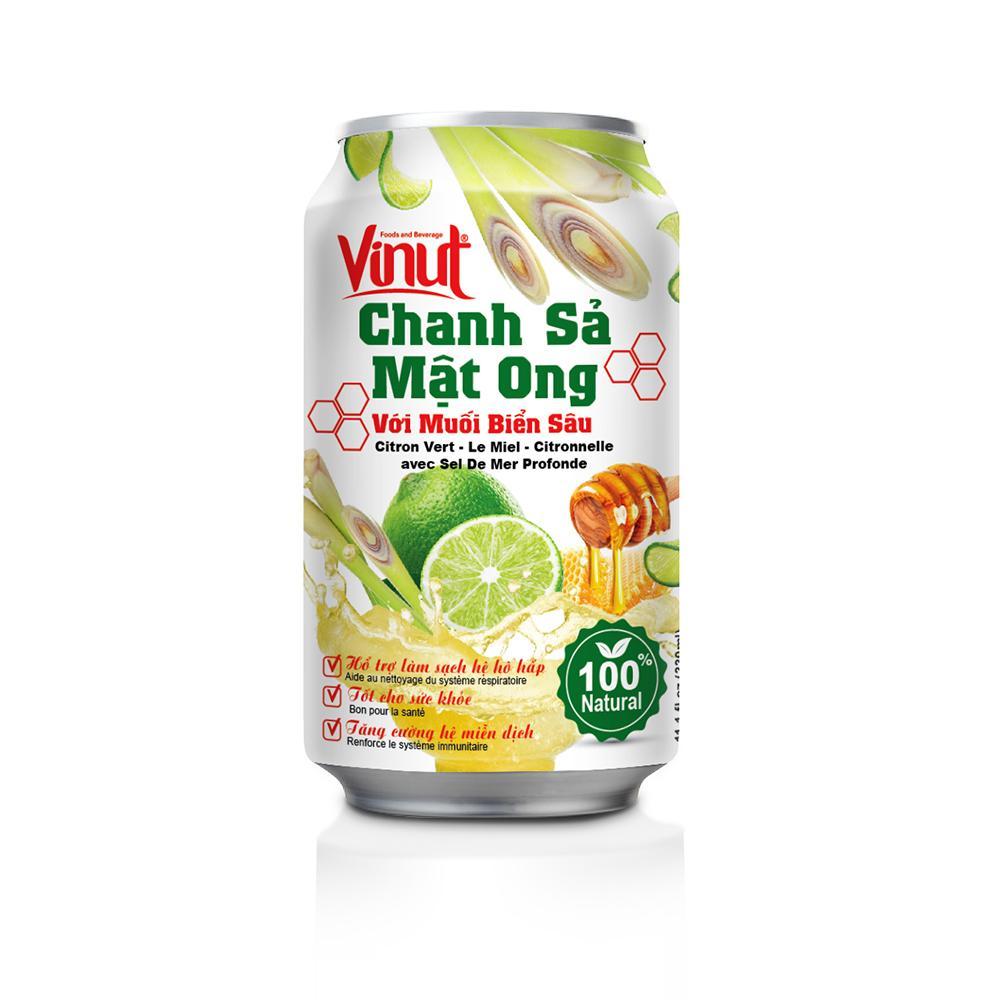 Nước Chanh Sả Mật Ong Vinut 330ml