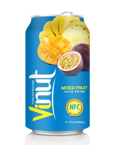 Nước Ép Trái Cây Hỗn Hợp (Mix Fruit) VINUT 330ml