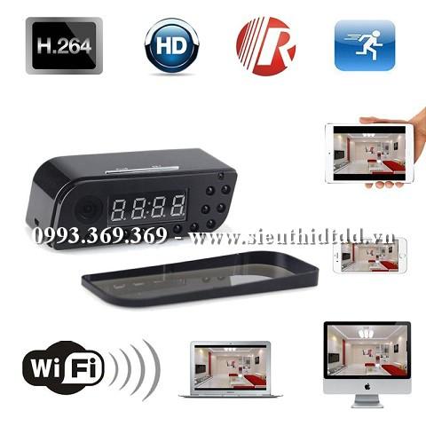 Đồng Hồ Camera Wifi