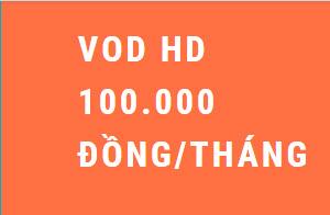 Gói cước VOD - Truyền hình FPT