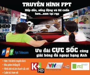 Gói cước truyền hình FPT - chi tiết giá cước