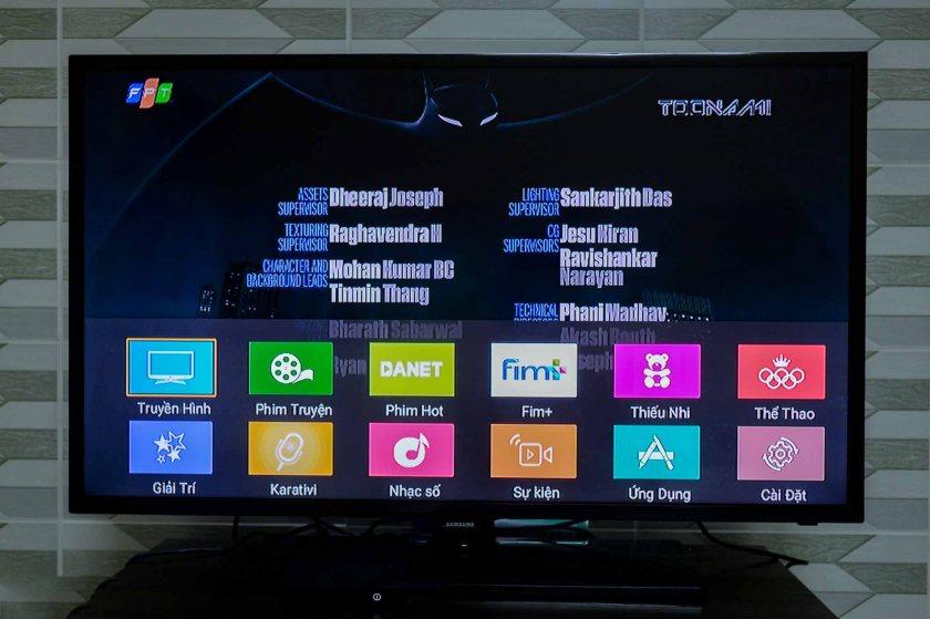 Tổng hợp các gói cước của truyền hình FPT