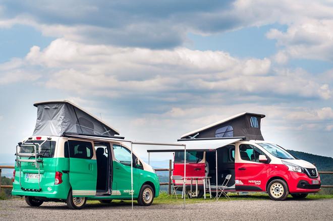 Xe cắm trại của Nissan cho người thích du lịch