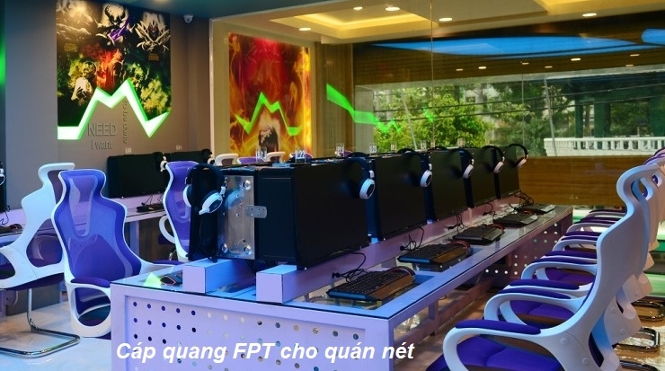 Cáp Quang FPT Cho Quán Nét - Khuyến Mãi Cực Lớn