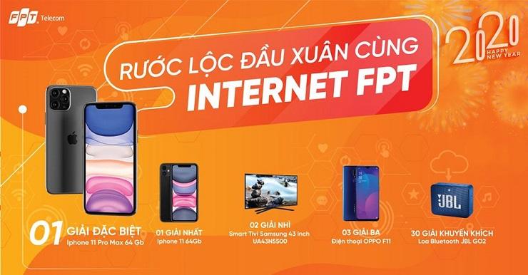 lắp mạng FPT trúng ngay iphone 11 pro max