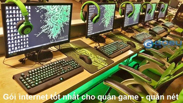 gói internet tốt nhất dành cho quán game