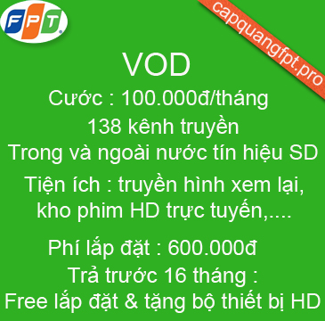 gói truyền hình vod hd