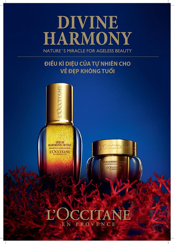 Sản phẩm Trẻ Hóa Da Quyền Năng Divine Harmony - lưu giữ làn da đẹp