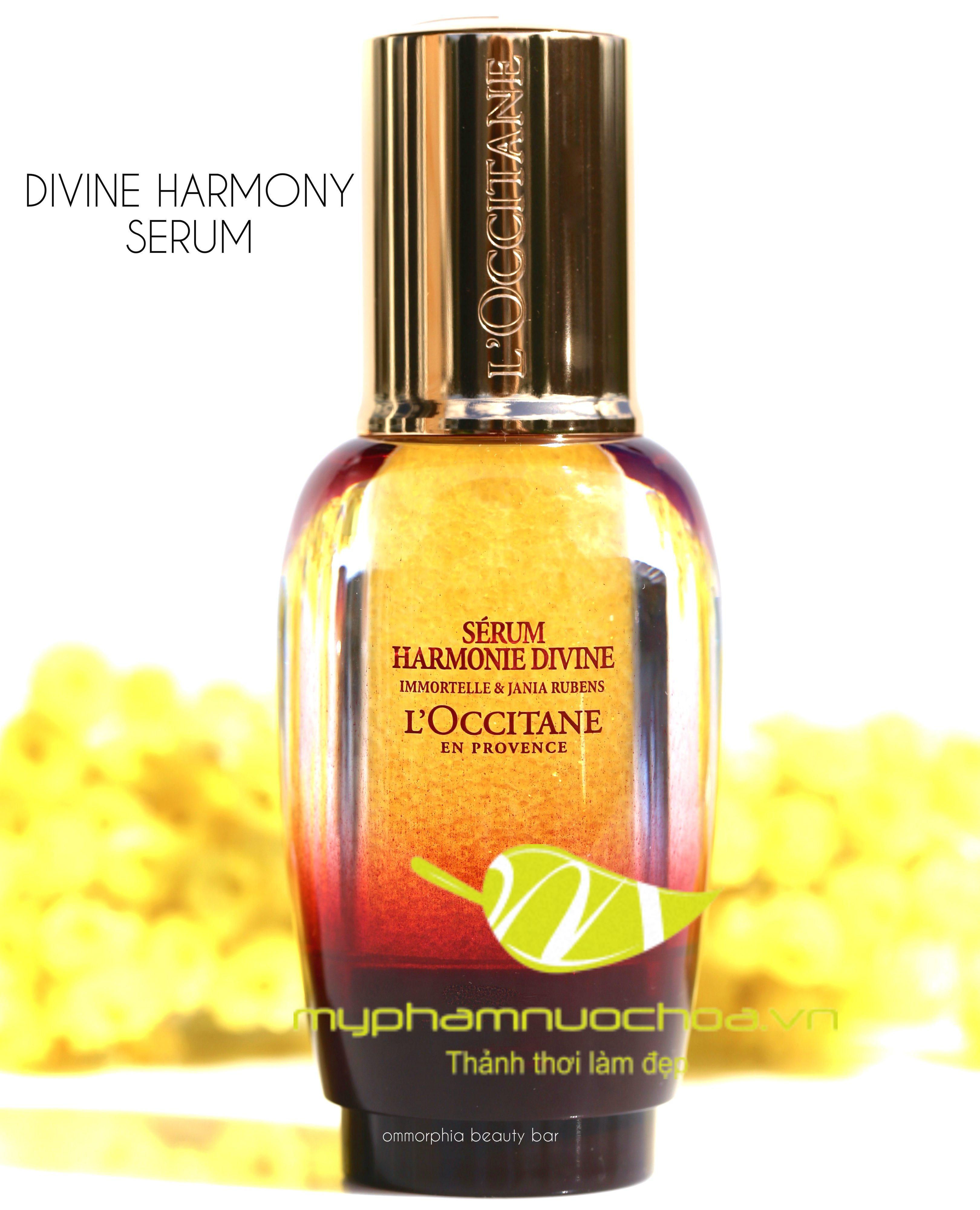 Tinh chất trẻ hóa da quyền năng Loccitane Divine Harmony